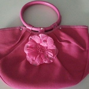 Neiman Marcus Hot Pink Tote